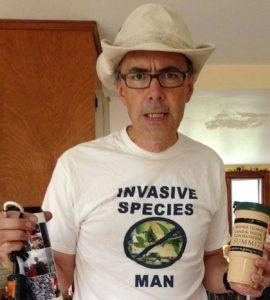 invasive species man